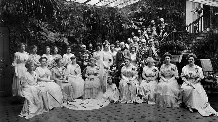 Wedding of Princess Viktoria Feodora Reuss of Schleiz and Duke Adolf Friedrich of Mecklenburg, 1917