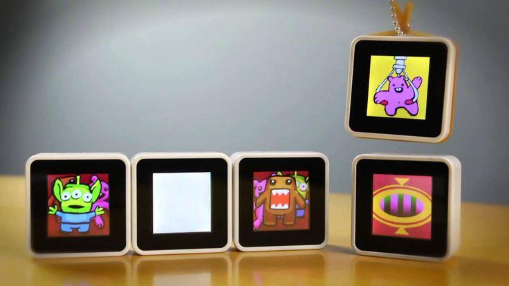Sifteo Cubes, el juego interactivo del futuro.