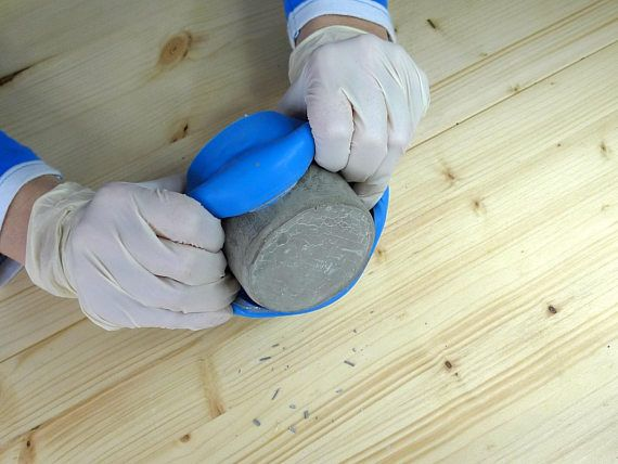 Use silicone molds for concrete casting to save time and get beautiful, consistent results