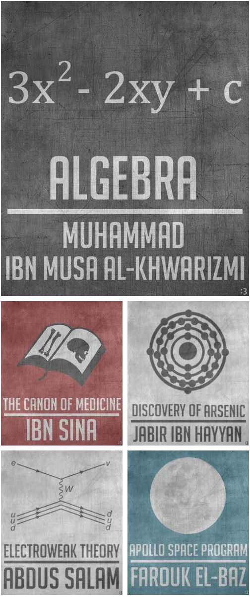 Muslims Scientists Who Changed The World .