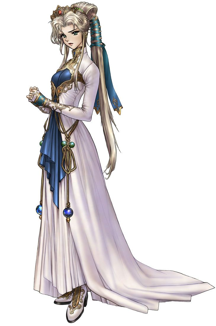 Fire Emblem: Nyna-will have to google this later, the dress is beautiful!