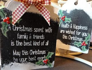 Personal Impressions Blog: Chalkboard Christmas by Tracey Fairgrieve