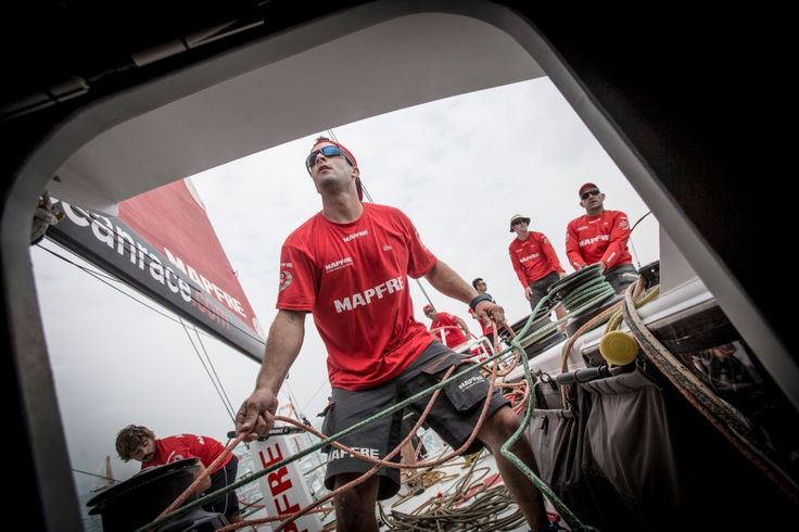February 05, 2015. Onboard MAPFRE