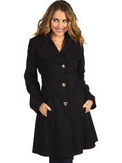69% Off Now $44.99 Jessica Simpson - Single Breasted Wool Coat (Black) - Apparel http://www.freeprintableshoppingcoupons.com