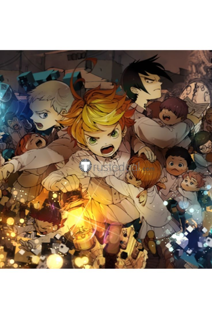 Try These The Promised Neverland Ray And Emma {Mahindra Racing}