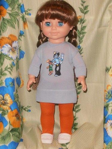"""Немного обновок для любимых """"весновок"""" (куклы фабрики """"Весна""""). / Одежда и обувь для кукол - своими руками и не только / Бэйбики. Куклы фото. Одежда для кукол"""