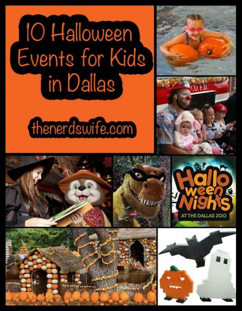 10 Halloween Events for Kids in Dallas