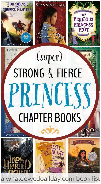Princess books   Strong Princess Books