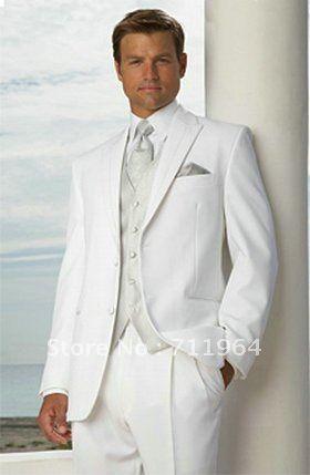 bianco 2013 nuovo arrivo designer smoking nozze sposo indossare tuta uomini business adatta ms12