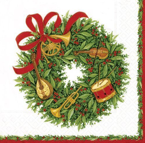 Christmas Napkins | Get Ready for Chirstmas | Online Resources and Free Information about Christmas times.