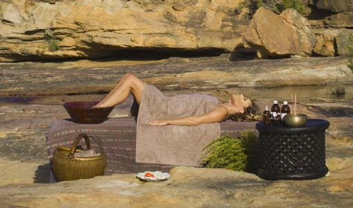 Out amid the rocks at Bushmans Kloof Wilderness Reserve & Retreat, Cederberg Area, Western Cape, South Africa