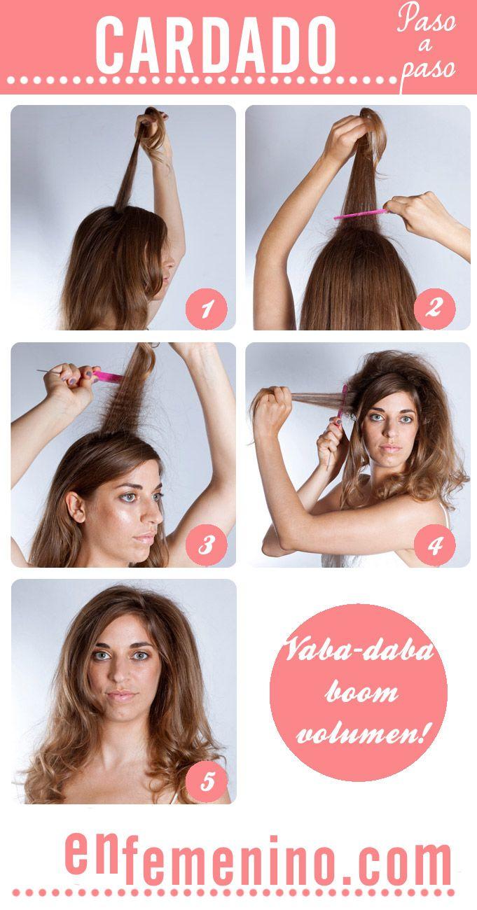 Cómo cardar el pelo