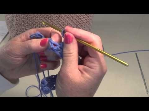 Καλοκαιρινη πλεχτή τσάντα με βελονάκι ! - YouTube