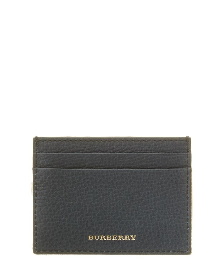 Burberry Card Holder With Money Clip