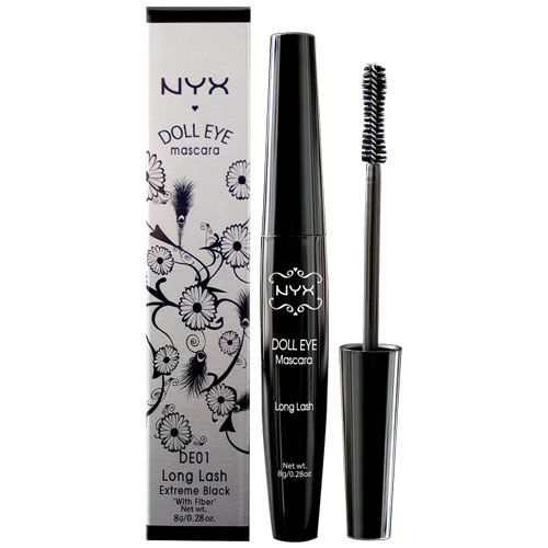NYX Doll Eye Mascara - DE02 Volume.  One of the best Mascara's I have ever used and that is coming from someone who loves Diorshow, Tarte  Fresh.  Give it a try : )