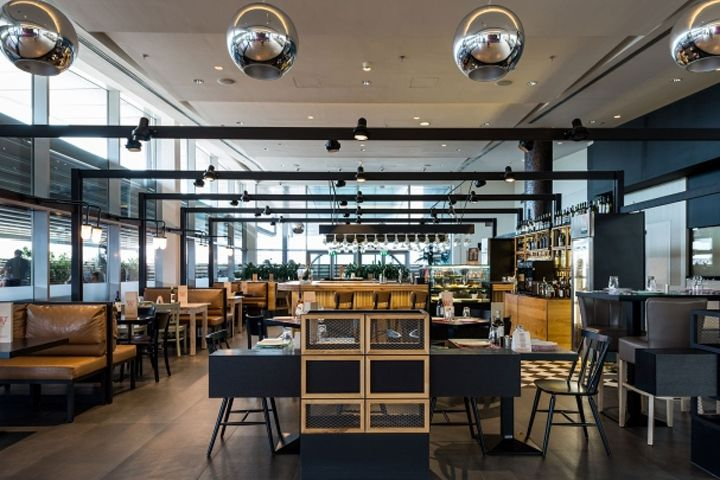 La Pasteria in Golden Hall by ChadiosAssociates Athens  Greece