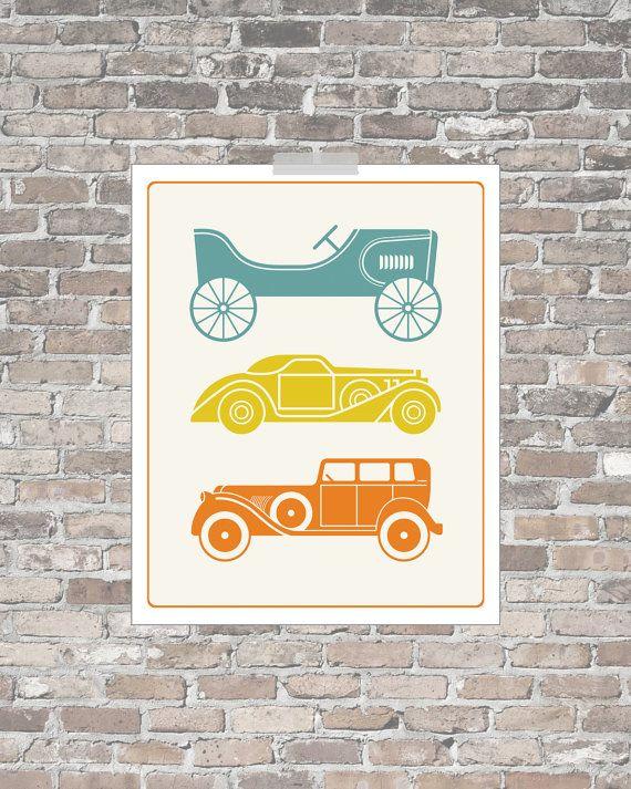 chrome Nursery  bracelet cars    transportation V    graphic Nursery Prints  vintage nursery art  Car Art decor  x   on Etsy  today        wall nursery nursery    hearts usa   Car art