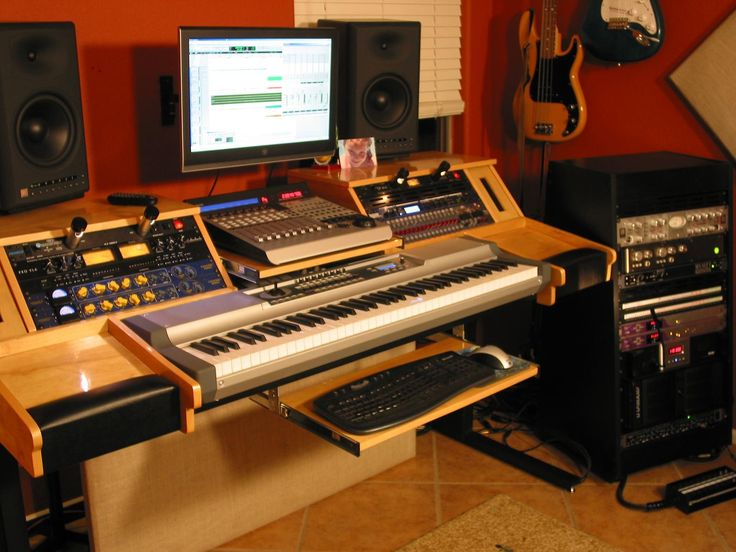 find this pin and more on diy music production desk ideas by daviddelbridge - Studio Desk Designs