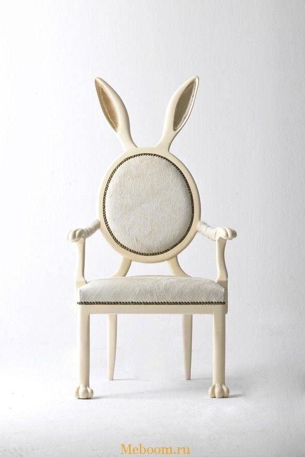 Оригинальные стулья Zoomorphic Chairs от дизайнера Merve Kahraman « Мебель для…