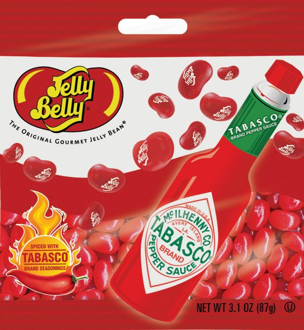 Tabasco Jelly Belly Beans 87g from Candy Junction Gourmet Jelly Beans in Home, Furniture & DIY, Food & Drink, Sweets & Chocolate | eBay