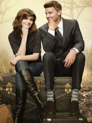 Emily Deschanel and David Boreanaz (Bones) I Miss the fashion that Temperance had in the early season