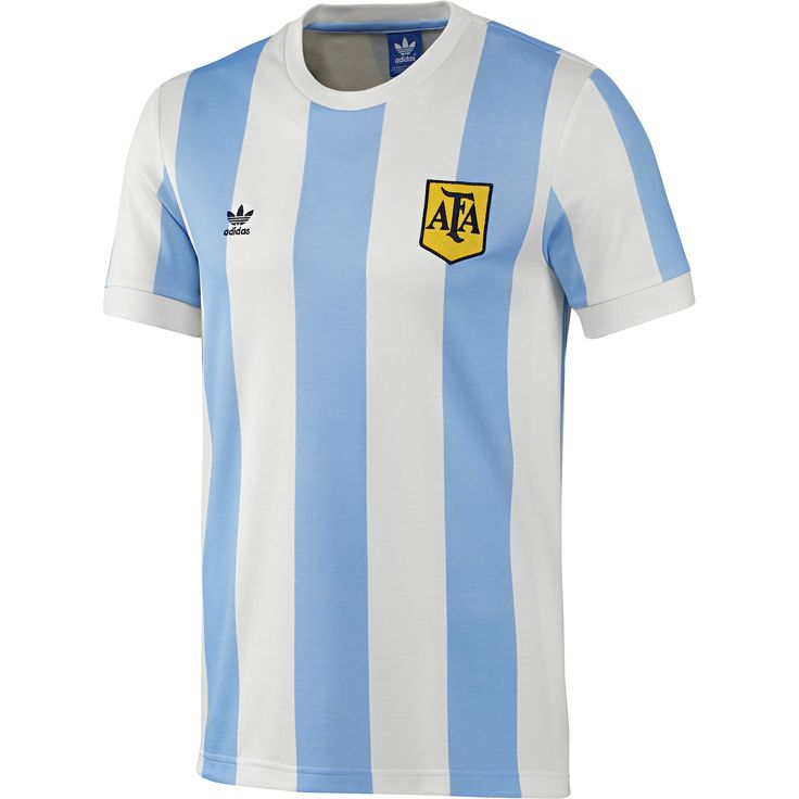 adidas Camiseta de Fútbol Retro Selección Argentina | adidas Colombia