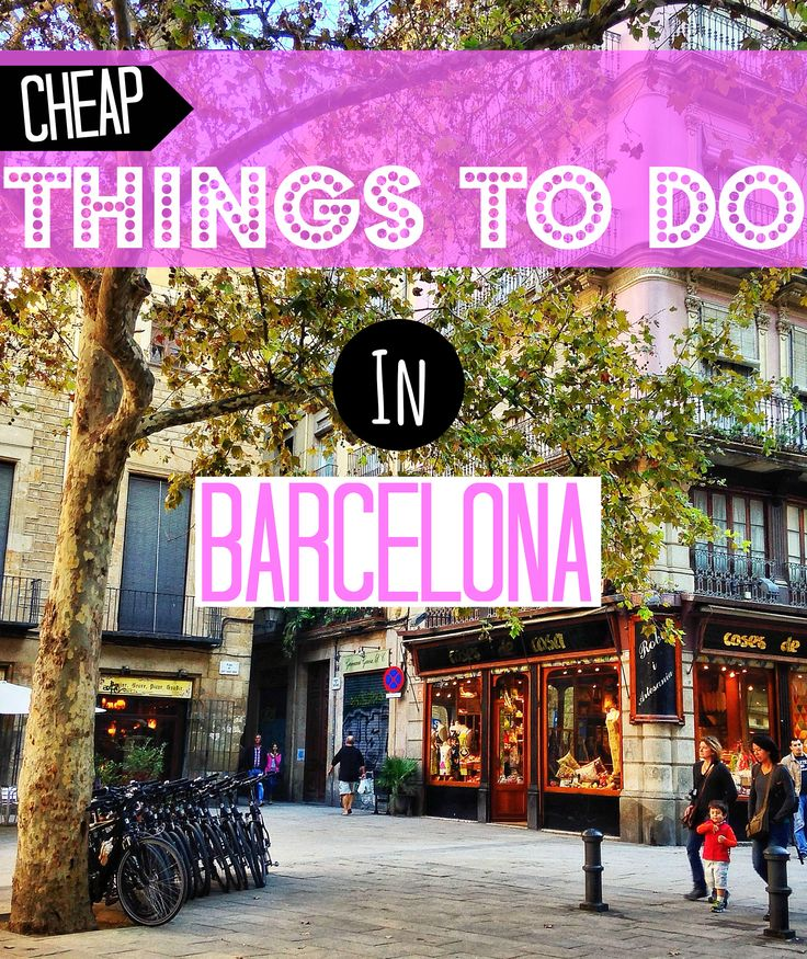 15 cheap things to do in Barcelona   - the best ideas for things to do in Barcelona, Spain if you're traveling on a limited budget.