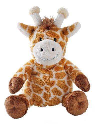 Girafe Peluche Bouillotte Micro onde 23 CM: Bien suivre les instructions de la notice pour éviter tout risque de surchauffe Petite peluche…