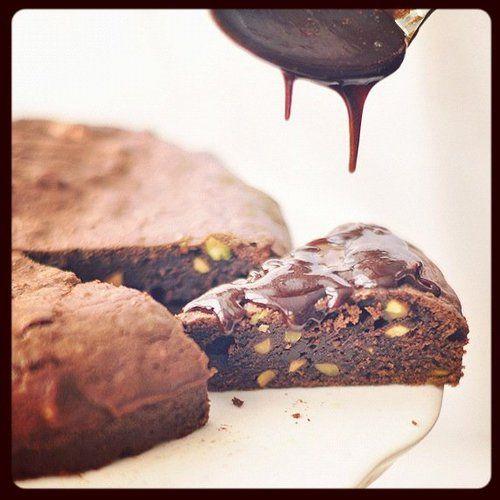 Pisztáciás brownie | Csak a Puffin