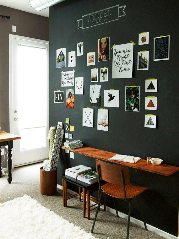 Escritórios para te inspirar - dcoracao.com - blog de decoração http://www.dcoracao.com/2014/07/escritorios-para-te-inspirar.html