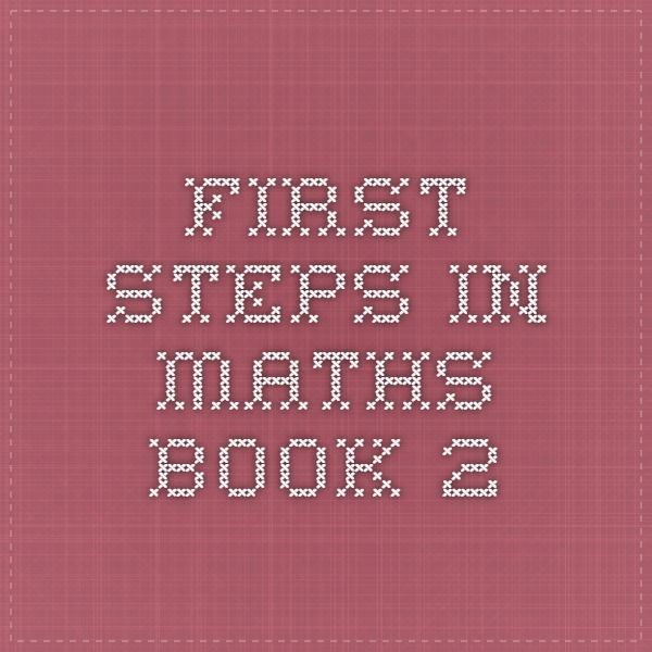First Steps in Maths Book 2