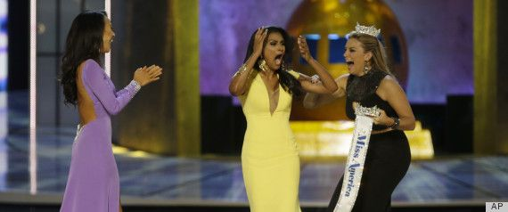 Nina Davuluri, Miss New York, was crowned the new Miss America on Sunday night in Atlantic City, New Jersey. Miss New York, the second Miss America winner from her state in the past two years, gracefully proves that pageant contestants needn't worry about onstage flubs, as she missed her cue during the talent competition earlier in the evening.