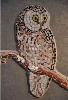 Mosaic Tawny Owl
