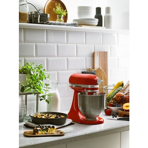 KitchenAid 5KSM3311XBHT Mini Mixer Hot Sauce