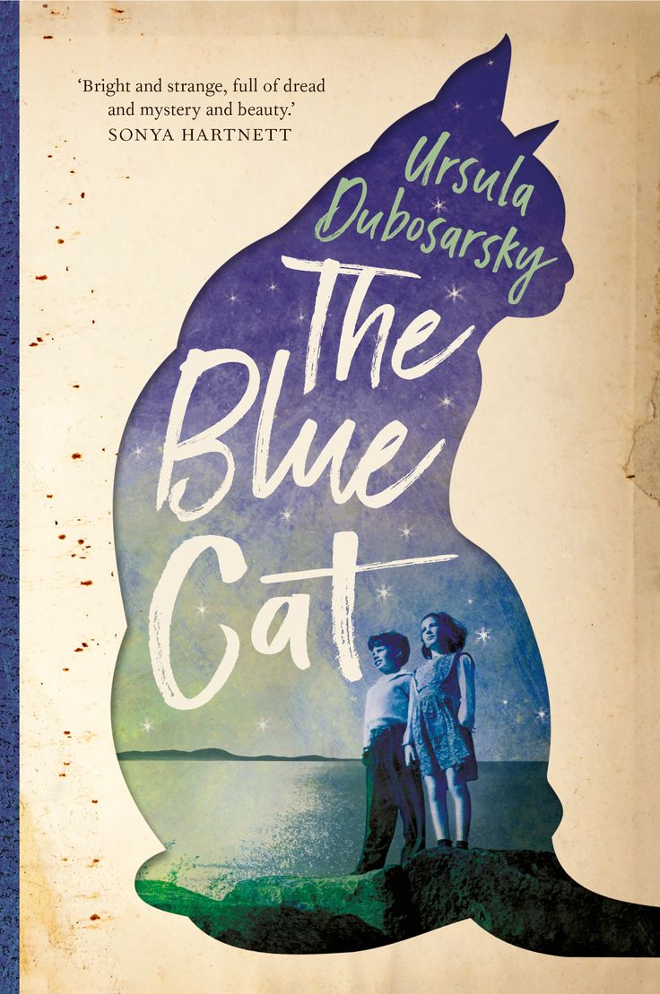 The Blue Cat by Ursula Dubosarsky. Designed by Debra Billson for Allen & Unwin.