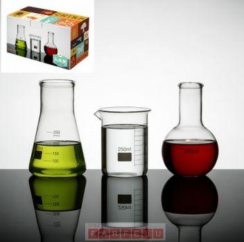 Ensemble de Flasques/Décanteurs Laboratoire | acceuil