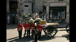 Princess Diana's Funeral Part 39 & Final: She Arrives Home ...