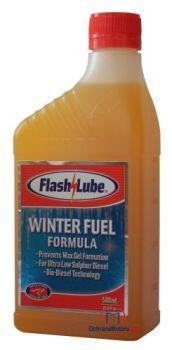 500 ml zimního aditiva do nafty proti zamrzání - Flashlube Winter Fuel Formula