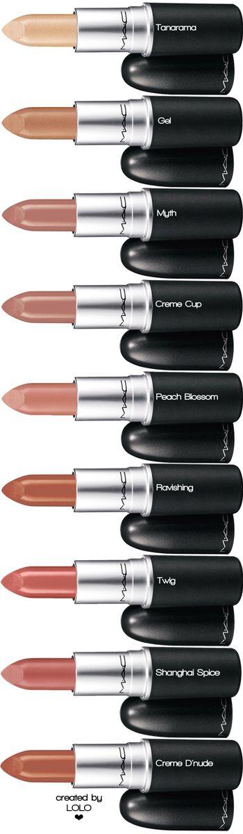 M·A·C Assorted Lipstick | LOLO❤