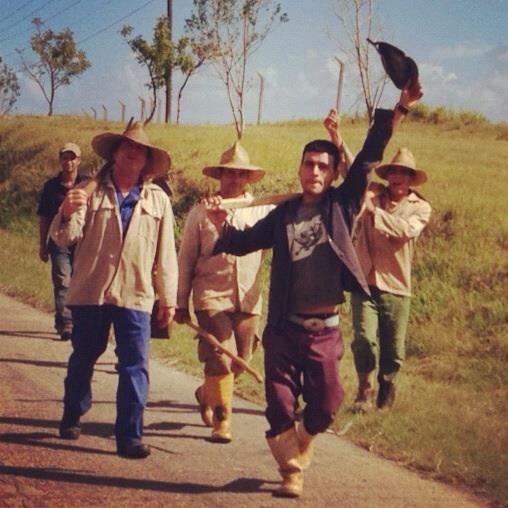 'Cuban Farmers' by Steve McKay (2012)