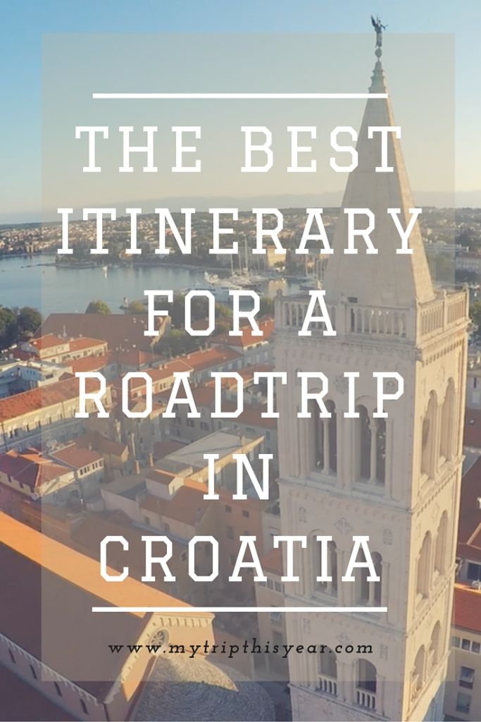 Roadtrip Croatia Pin