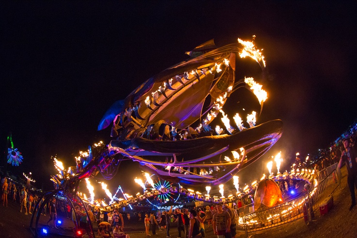 Serpent Mother by Flaming Lotus Girls at EDC Vegas '12