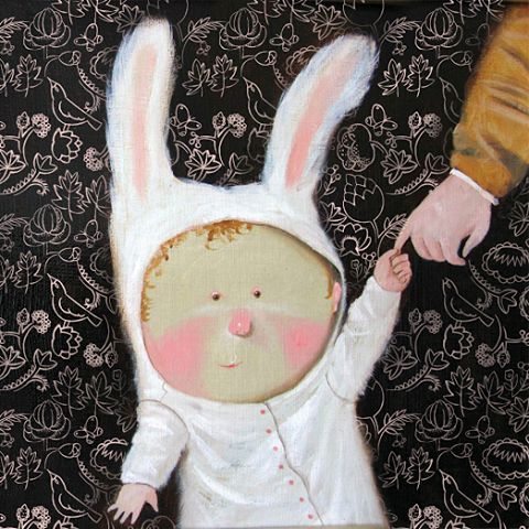"My #Mom constantly calls me ""my #bunny"". And how You were called in a #childhood?  #gapchinska  #lovely #love #Happy #happiness #care #angel"