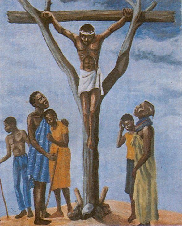 Through Nomadic Eyes: Stations of the Cross in Lodwar Cathederal, Kenya.