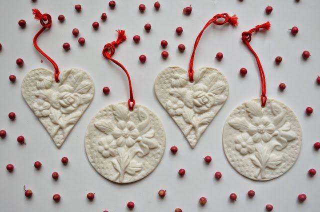 ❍ Porcelain decorations for the festive season by Otchipotchi . November 2014