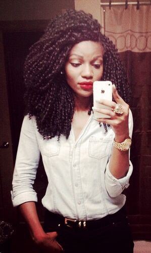 Crochet braids Natural Hair Pinterest