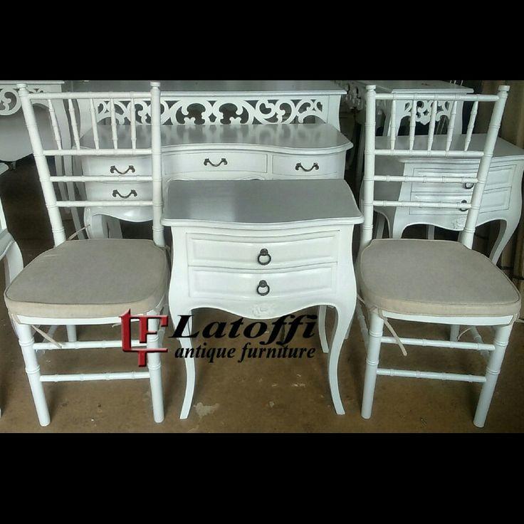 Tiffany chair #furniture #art #furnitureduco #indonesiafurniture #furniturejepara #homedecor #shabby #decor
