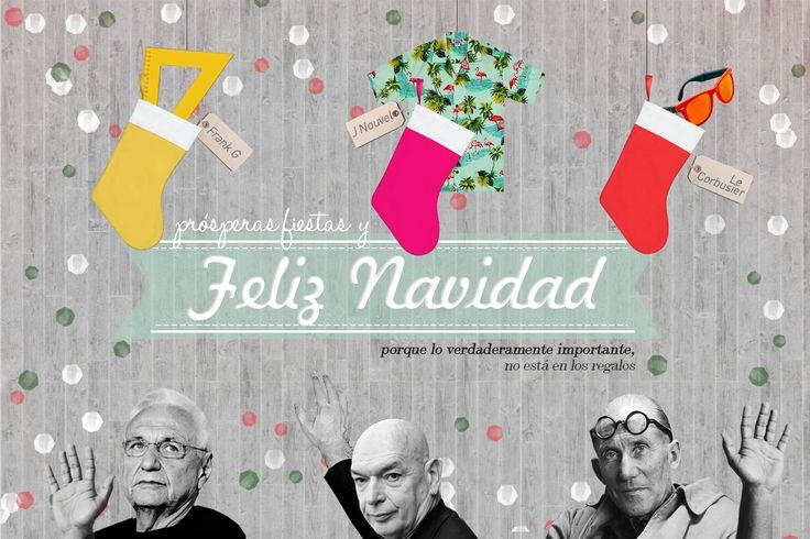 postal navideña para plataforma arquitectura 2014