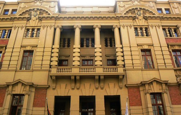 The Rand Club in downtown Johannesburg Image by: Archive