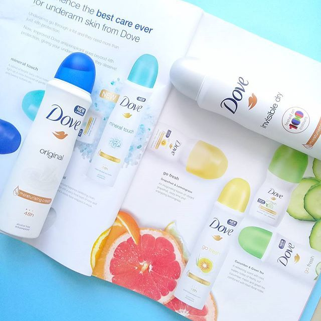 Can you spot the Dove product does not belong in the picture? #dove100colours #DoveSA #rubybox #doveantiperspirant #southafricanbloggers #bblogger
